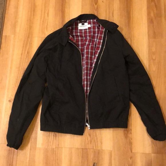 01fc378b6 Men's Topman black jacket